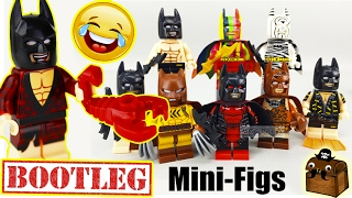 The LEGO Batman Movie Review Custom Minifigures 2017
