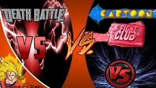 DEATH BATTLE vs CARTOON FIGHT CLUB! Cartoon Fight Club Ep-48 REACTION!!!
