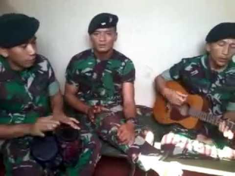 lagu TUNAIKAN TUGASMU (suara hati kekasih prajurit ) cipta kopda puji yonif 400R