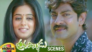 Priyamani Accepts Jagapathi Babu's Love | Pravarakyudu Movie Scenes | Sunil | Mango Videos