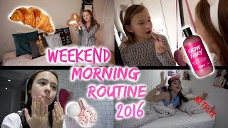 WEEKEND MORNING ROUTINE 2016!