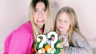 Meine Schwester und Ich pusten Eier aus ♡   Dagi Bee