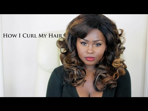 How I Curl My Hair With Straighteners | Hair Tutorial