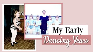 My Early Dancing Years & Footage as a Child | Kathryn Morgan
