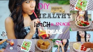 Healthy DIY Lunch Ideas for School ♡ Quick and Easy