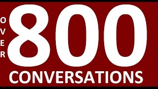 OVER 800 ENGLISH CONVERSATIONS. Learn English Speaking Practice. Learning English conversation