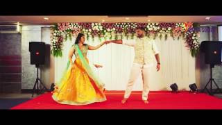 Best Romantic Wedding Sangeet Bride & Groom Dance Choreography | Natya Social