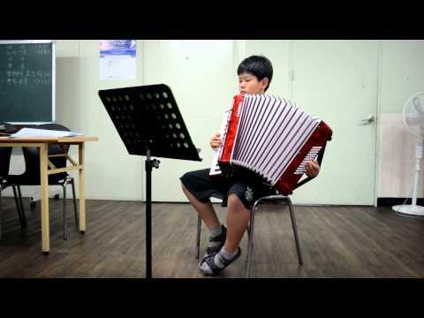 김창성아코디언-라스빠뇨라  20130818