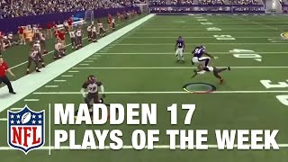 Best Madden NFL 17 Fan Plays of the Week | NFL