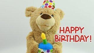 Happy Birthday Song | GUND Happy Birthday Teddy Bear