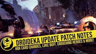 HoK Card Changes, Huge Luke buff & Patch Notes - Star Wars Battlefront 2 News Update!