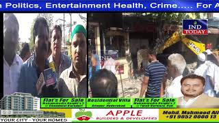 Demolition Drive: GHMC Clears Encroachments Near Nampally Metro Railway Station