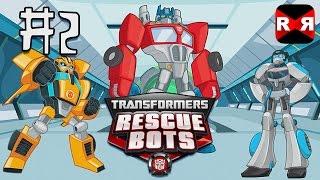 Transformers Rescue Bots: Disaster Dash - Hero Run - All Bots Unlocked - Gameplay Part 2