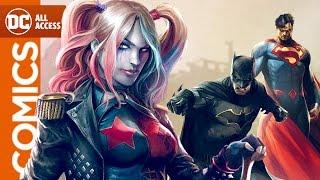 Sneak Peek at Justice League vs Suicide Squad