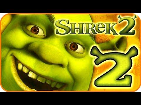 Shrek 2 Game Walkthrough Part 2 PS2 XBOX Gamecube 2 Spooky Forest