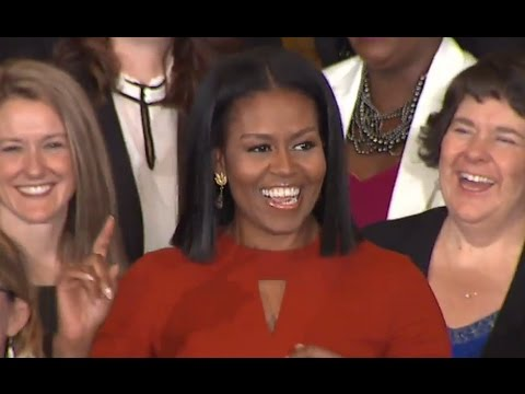 Michelle Obama Final Speech as First Lady ABC News