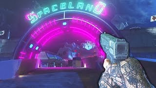SPACELAND ZOMBIES FIRST TIME GAMEPLAY/WALKTHROUGH (Infinite Warfare Zombies)