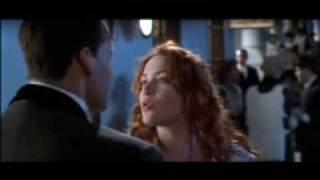 TITANIC- (Rose Rescuing Jack Scene)