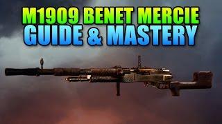 M1909 Benet-Mercie Machine Gun Sniper! | Battlefield 1 Weapon Mastery & Guide