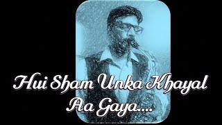 #226:-Hui Sham Unka Khayal Aa Gaya || Mere Humdam Mere Dost || Mohd Rafi || Best Saxophone cover