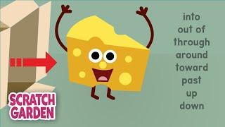 The Preposition Song for Kids: Part 3| English Grammar Videos by Scratch Garden
