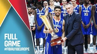 Lithuania v France - Full Game - FINAL - FIBA U18 European Championship 2016