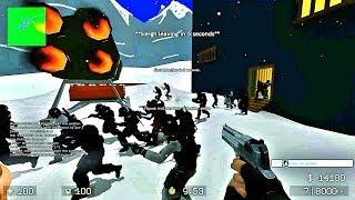 CS Source - Zombie Escape Mod - ze_Christmas_beta2 - Level 2