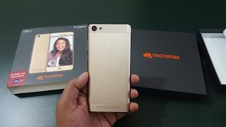 Micromax VDEO 4 - Unboxing & Hands On   First Looks