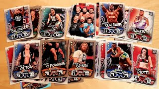 WWE SLAM ATTAX UNBOXING 2018/19 | Topps Trading Cards Unpacking