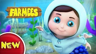 Baby Lullaby | Underwater Lullaby for Babies & Kids | 4 Hour Bedtime Lullabies