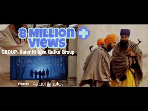 Daler Khalsa gatka Group Nawanshahr Nanak singh  with Zaalam By Gippy Grewal