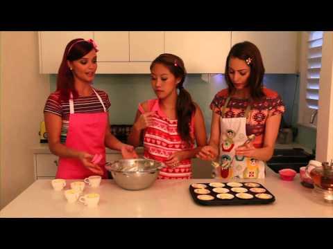 watch Hi-5 Girls making cupcakes