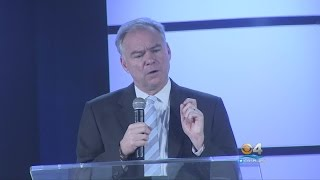 Kaine Makes Campaign History With Spanish Speech In Miami