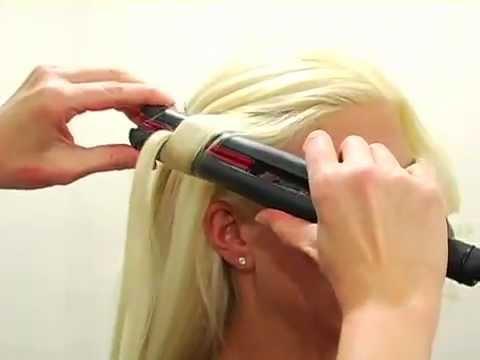 Прически на средние волосы с утюжком фото