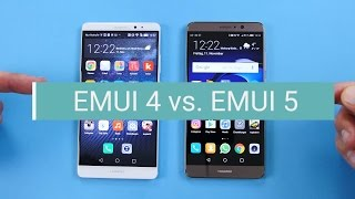 Huawei: EMUI 4 (Android 6) vs. EMUI 5 (Android 7) - die Unterschiede!