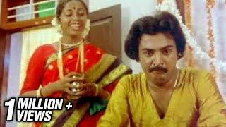 First Night Comedy - Gopurangal Saivathillai Tamil Movie Scene - Mohan, Suhasini