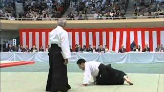 Excellent Aikido Demonstration : Hiroshi Isoyama