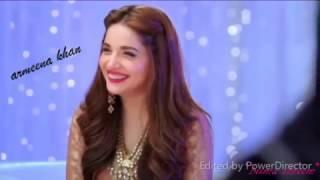 *Armeena Khan    Maya Ali    Sajal Ali    Mahira Khan* ( janam janam)