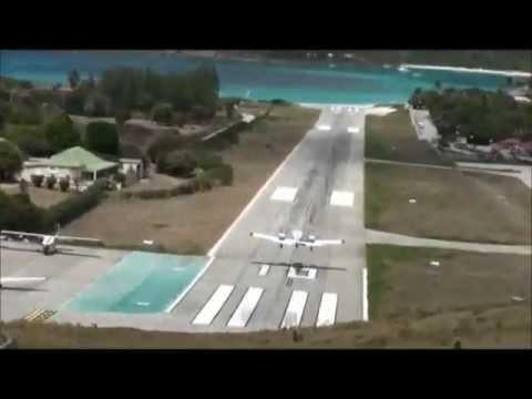 Los aeropuertos mas peligrosos del mundo