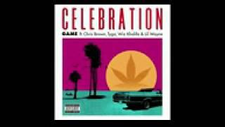 Game ft Chris Brown Tyga Wiz Khalifa - Lil Wayne - Celebration Official Instrumental