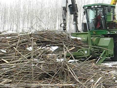 John Deere woodchipper harvester PEZZOLATO