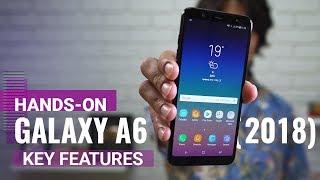 Samsung Galaxy A6+ (2018) key features
