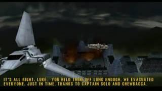 Star Wars: Rogue Squadron (N64) Mission Cutscenes