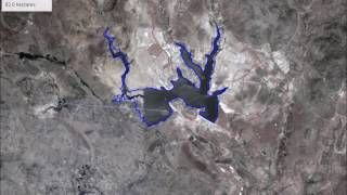 15 years of new lakes and reservoirs in Eritrea: Google Earth Timelapse