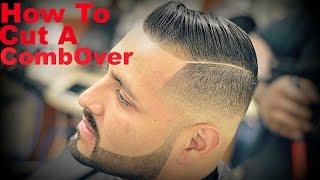Barber Tutorial: How To Cut A Comb-Over HD* (Cristiano Ronaldo)
