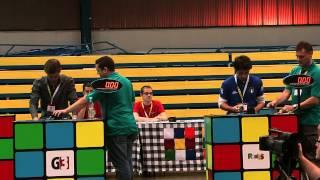 European Rubik's Cube Championship 2012 Final (3x3)