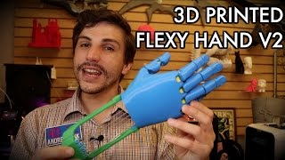 Building the Flexy Hand 2 / Enabling the Future Project Overview! 3D PRINTED PROSTHETICS!