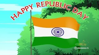 GreenGoldKids - Happy Republic Day!