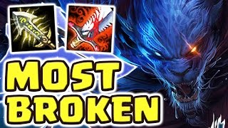 DOUBLE INSTANT DELETION IN FOUNTAIN !! NOWHERE TO HIDE (20 KILLS FULL AD RENGAR JUNGLE) - Nightblue3