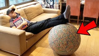 Q&A Part 10 -- Rubber band ball action